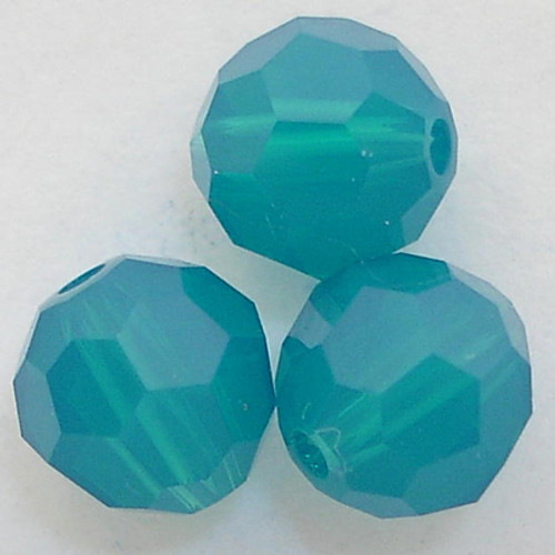 Swarovski 5000 6mm Round Beads Caribbean Blue Opal  (360 pieces)