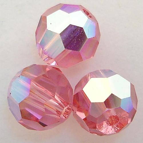 Swarovski 5000 6mm Round Beads Rose AB  (360 pieces)