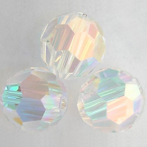 Swarovski 5000 8mm Round Beads Crystal AB 2X  (288 pieces)
