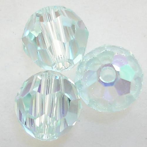 Swarovski 5000 8mm Round Beads Light Azore AB  (288 pieces)