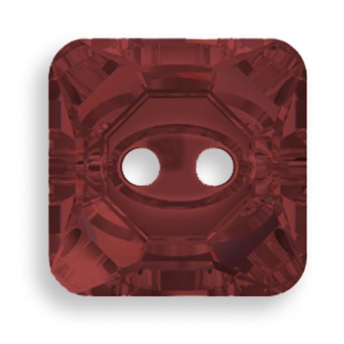 Swarovski 3017 12mm Square Button Burgundy (48  pieces)
