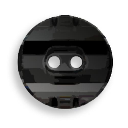 Swarovski 3035 14mm Round Button Jet (36  pieces)