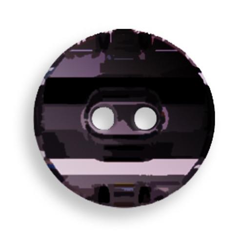 Swarovski 3035 14mm Round Button Jet Hematite (36  pieces)