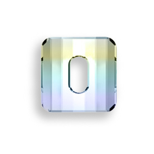 Swarovski 3037 14mm Square Button Crystal AB (36  pieces)