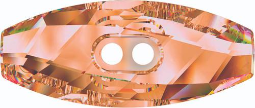 Swarovski 3024 32mm Dufflecoat Crystal Button Crystal Copper (30  pieces)