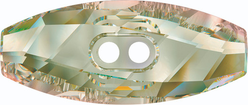 Swarovski 3024 23mm Dufflecoat Crystal Button Crystal Luminous Green (36  pieces)