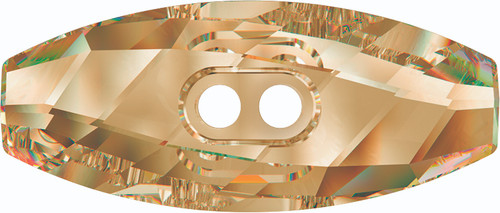 Swarovski 3024 32mm Dufflecoat Crystal Button Crystal Tabac (30  pieces)