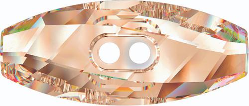 Swarovski 3024 32mm Dufflecoat Crystal Button Light Colorado Topaz (30  pieces)