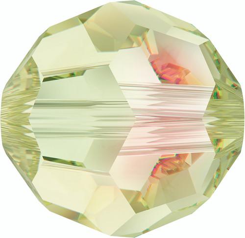 Swarovski 5000 8mm Round Beads Crystal Luminous Green  (288 pieces)