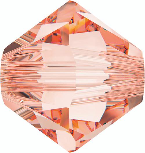 Swarovski 5328 4mm Xilion Bicone Beads Rose Peach   (1,440 pieces)