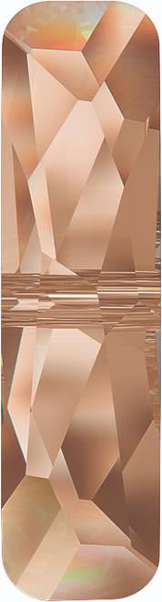 Swarovski 5534 19mm Column Bead  (one hole) Crystal Golden Shadow