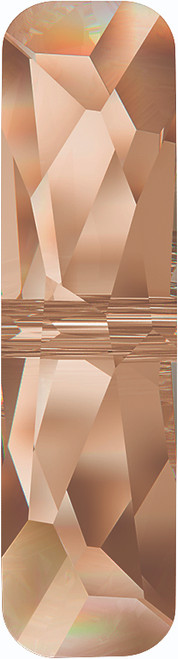 Swarovski 5534 23mm Column Bead  (one hole) Crystal Golden Shadow