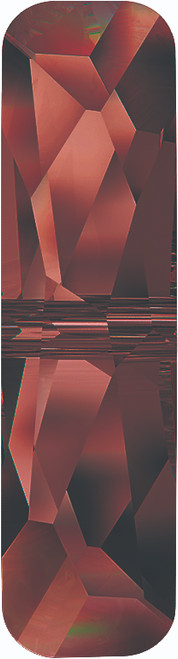 Swarovski 5534 23mm Column Bead  (one hole) Crystal Red Magma
