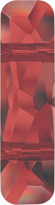 Swarovski 5535 23mm Column Bead  (two holes) Crystal Red Magma