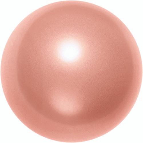 Swarovski 5810 8mm Round Pearls Rose Peach (50  pieces)