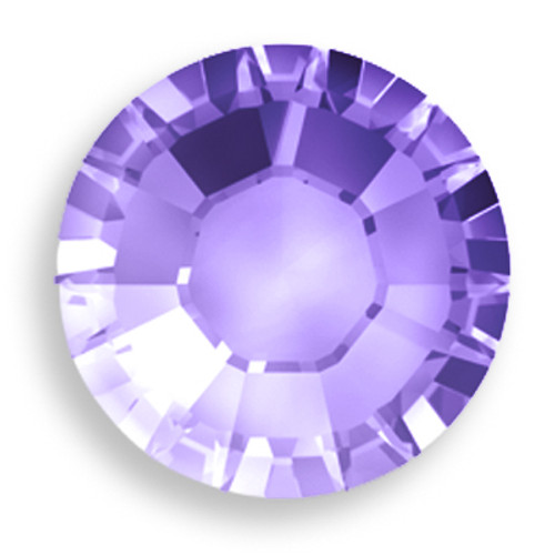 Swarovski 1028 20ss Xilion Round Stone Tanzanite