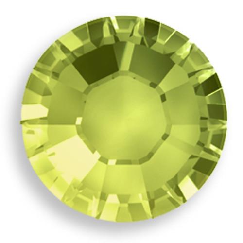 Swarovski 1028 7pp Xilion Round Stone Olivine