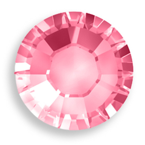 Swarovski 1028 7pp Xilion Round Stone Rose