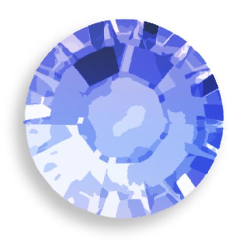 Swarovski 1028 7pp Xilion Round Stone Sapphire