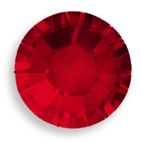 Swarovski 1028 7pp Xilion Round Stone Siam
