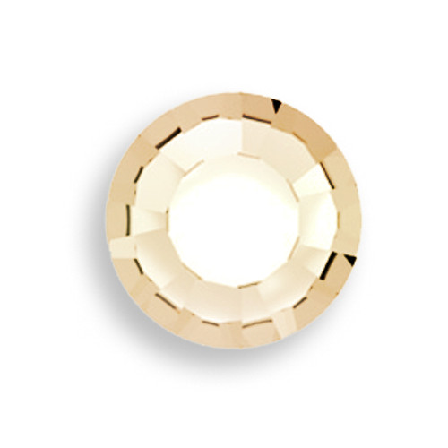 Swarovski 1128 29ss Round Stone Crystal Golden Shadow