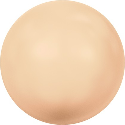 Swarovski 5810 4mm Round Pearls Peach (100  pieces)
