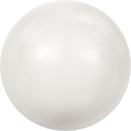 Swarovski 5810 6mm Round Pearls White (100  pieces)