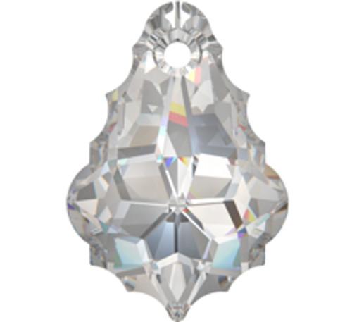Swarovski 6090 16mm Baroque Pendant Crystal AB (6  pieces)