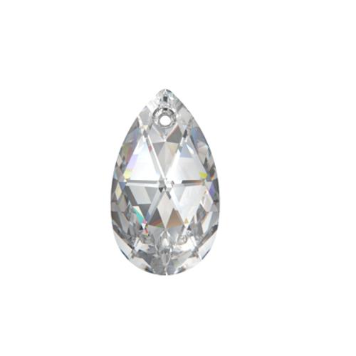 Swarovski 6106 22mm Pearshape Pendant Crystal (4  pieces)
