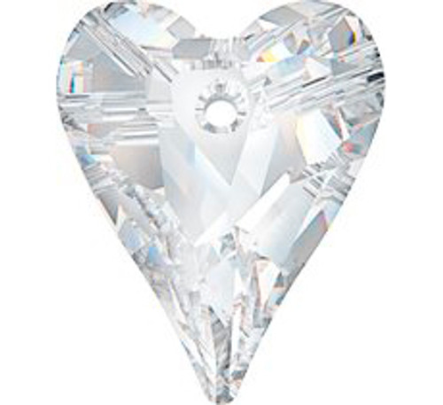 Swarovski 6240 12mm Wild Heart Pendant Crystal (108  pieces)