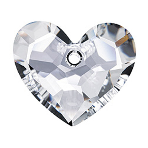 Swarovski 6264 28mm Truly in Love Heart Pendant Crystal (16  pieces)
