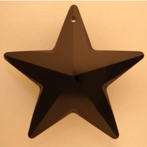 Swarovski 6714 20mm Star Pendant Jet (48  pieces)