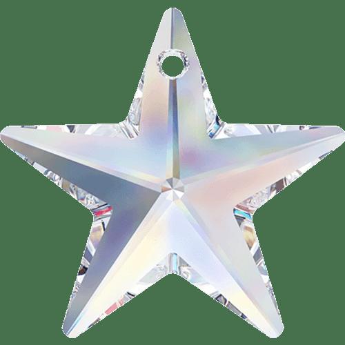 On Hand: Swarovski 6714 40mm Star Pendant Crystal AB (1 piece)
