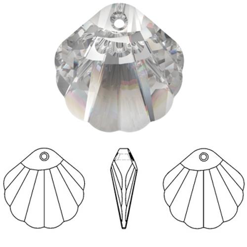 Swarovski 6723 28mm Shell Pendant Crystal (18  pieces)