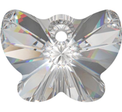 Swarovski 6754 18mm Butterfly Pendant Crystal Moonlight (72  pieces)