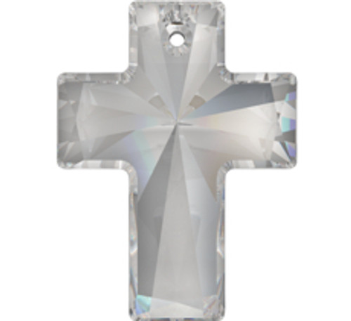 Swarovski 6864 40mm Cross Pendant Crystal AB (9  pieces)