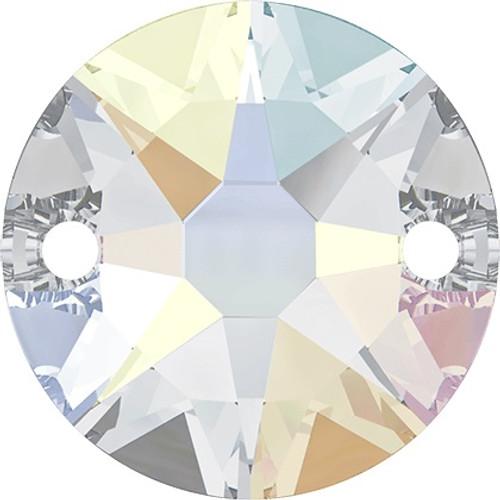 Swarovski 3288 10mm Xilion Sew On Crystal AB
