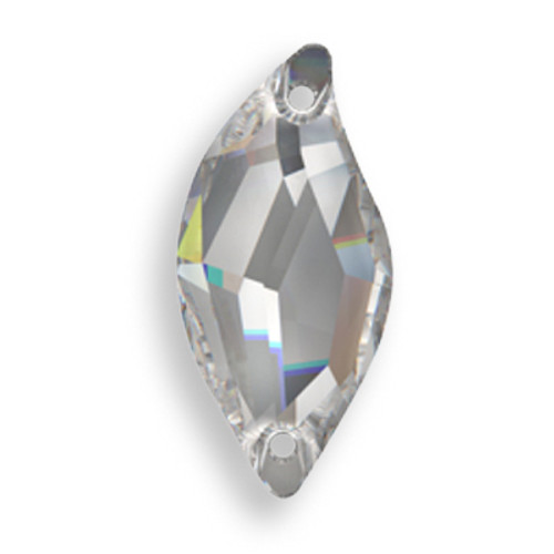 Swarovski 3254 20mm Leaf Sew On x9 Crystal