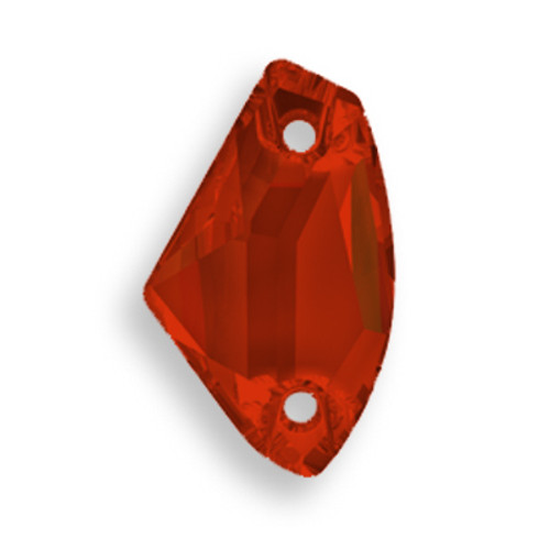Swarovski 3256 14mm Galactic Sew On x8.5 Crystal Red Magma