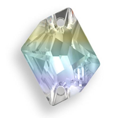 Swarovski 3265 20mm Cosmic Sew On x16 Crystal AB