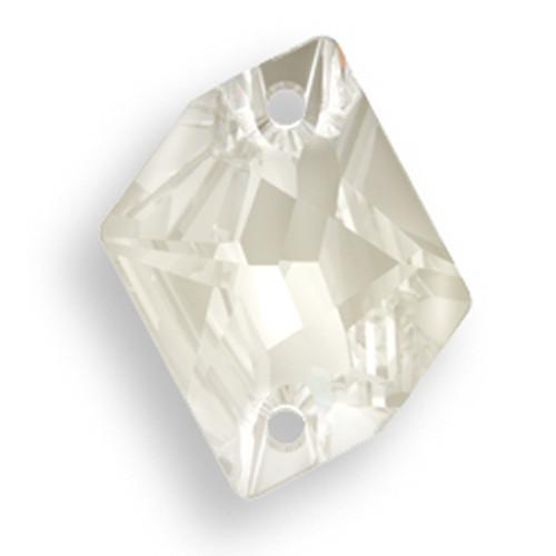 Swarovski 3265 20mm Cosmic Sew On x16 Crystal Silver Shade