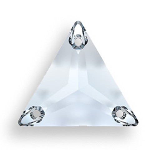 Swarovski 3270 16mm Triangle Sew On Crystal