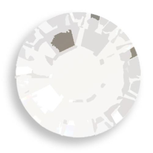 Swarovski 2028 10ss(~2.75mm) Xilion Flatback Chalk White   Hot Fix
