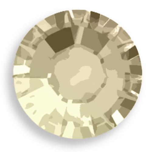 Swarovski 2028 20ss(~4.7mm) Xilion Flatback Sand Opal   Hot Fix