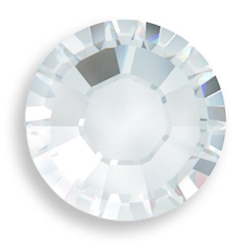 Swarovski 2028 34ss(~7.2mm) Xilion Flatback Crystal Moonlight   Hot Fix