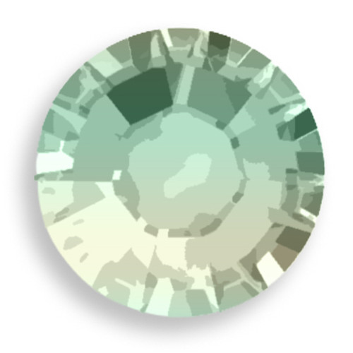 Swarovski 2028 6ss(~1.95mm) Xilion Flatback Pacific Opal   Hot Fix