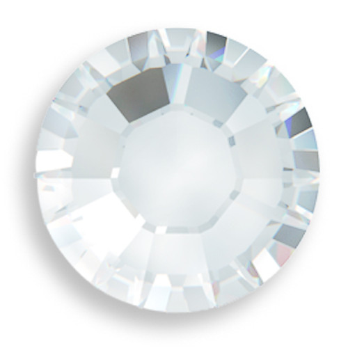 Swarovski 2058 5ss(~1.75mm) Xilion Flatback Crystal Moonlight