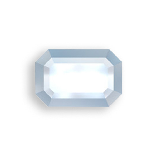 Swarovski 2610 6mm Rectangle Flatback Crystal