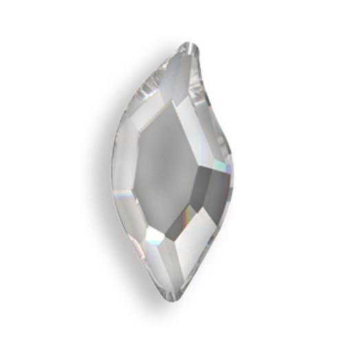 Swarovski 2797 8mm Leaf Flatback Crystal