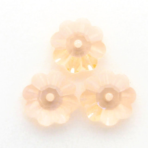 Swarovski 3700 10mm Marguerite Beads Light Peach